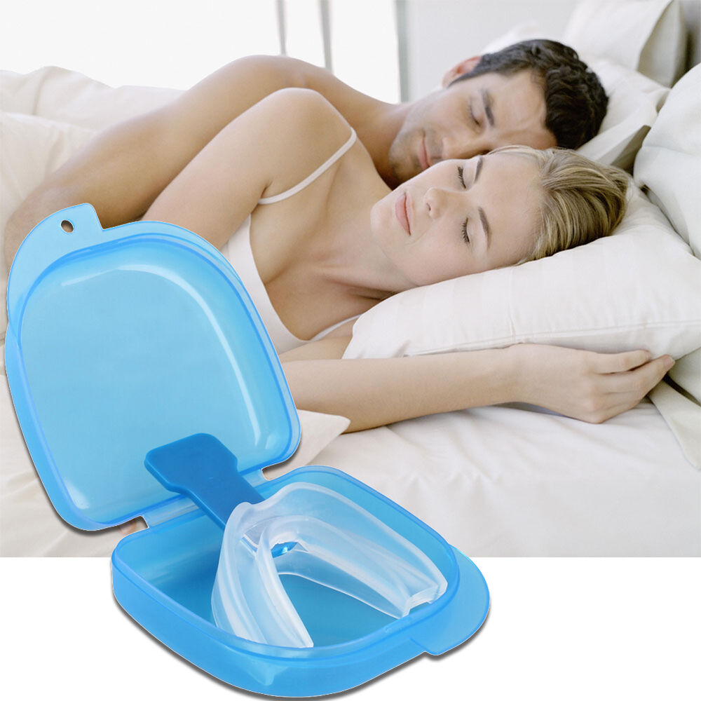 stop snoring solution anti snore mouthpiece tray stopper sleep apnea mouthguard