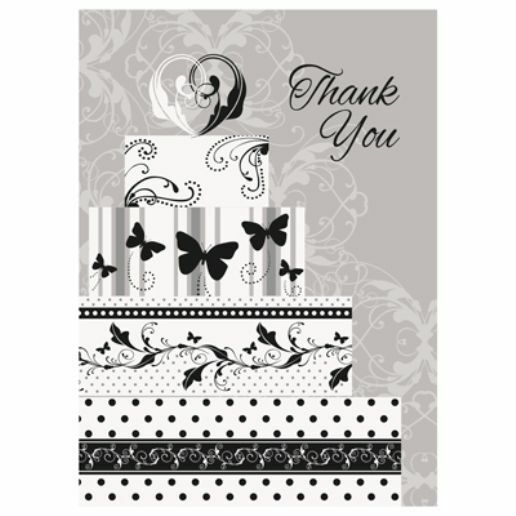 Victorian Wedding 8 Ct Thank You Notes Bridal Shower Engagement Party EBay