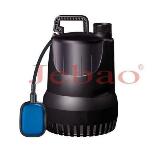 Jebao submersible dirty water drainage pond pump 6500l h for Water pump to drain pond