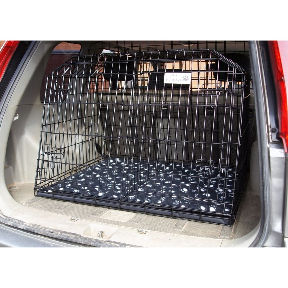 Pet World Nissan Xtrail Sloping Car Dog Cage Estate 4x4 Travel Offroad Modified Crate Puppy Ebay