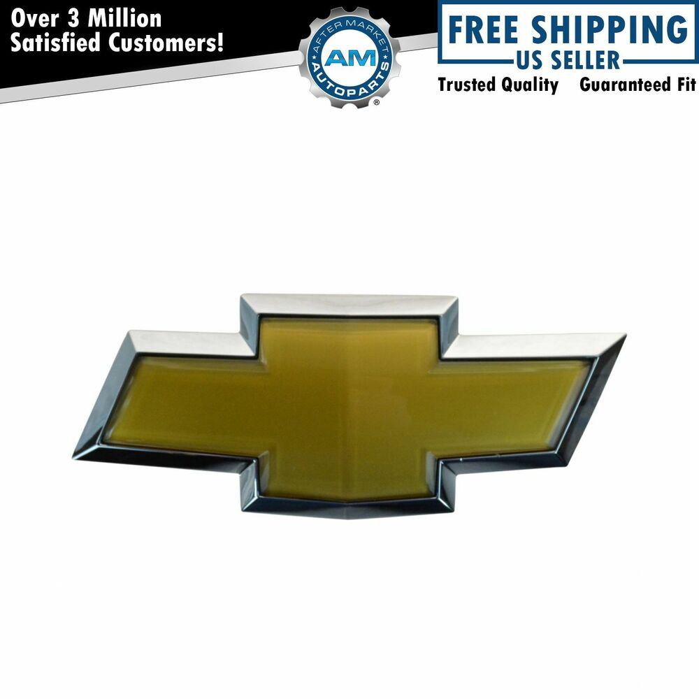 oem 22909142 bowtie emblem front bumper mount for chevy. Black Bedroom Furniture Sets. Home Design Ideas