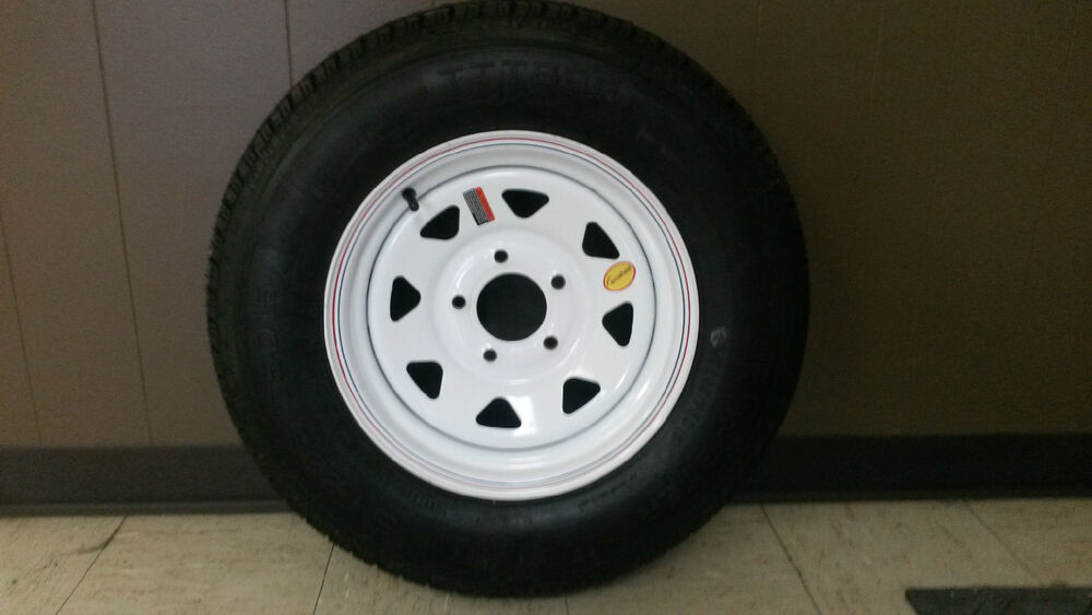 225 75d15 5 lug 5x5 bolt trailer tire and wheel 15 inch 8ply tire 225 75d15 ebay. Black Bedroom Furniture Sets. Home Design Ideas