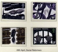 GB 1976 Social Reforms SG 1001-1004 MNH Mint