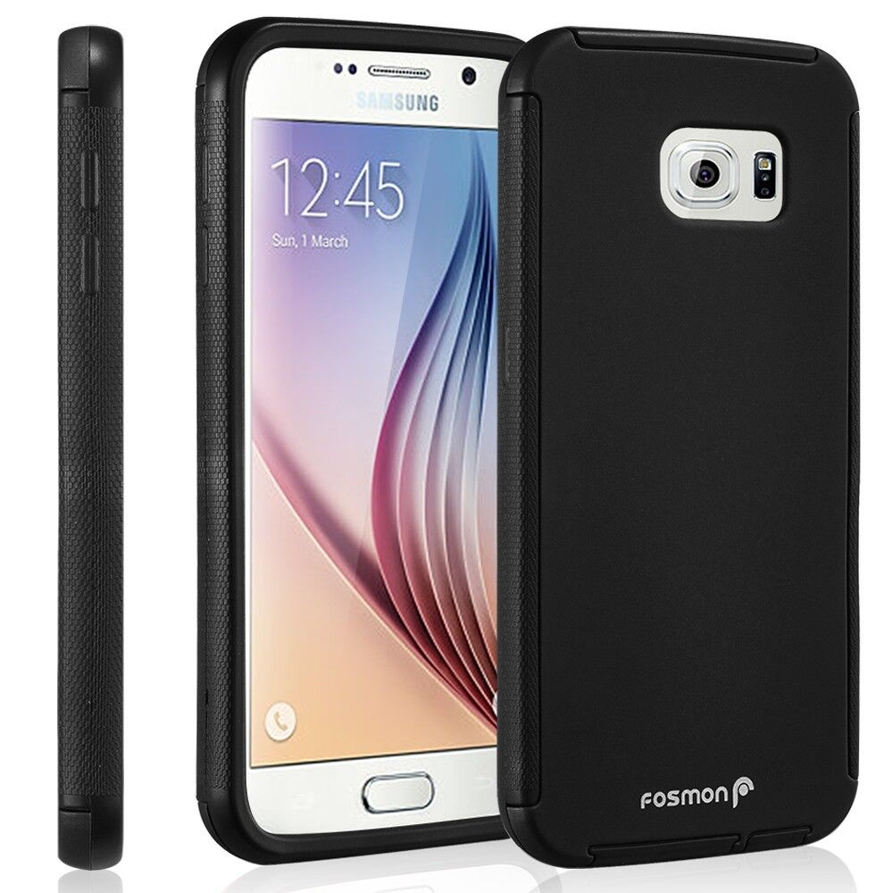 Hybrid TPU Protective Case Cover Built-In Screen Protector For Samsung ...