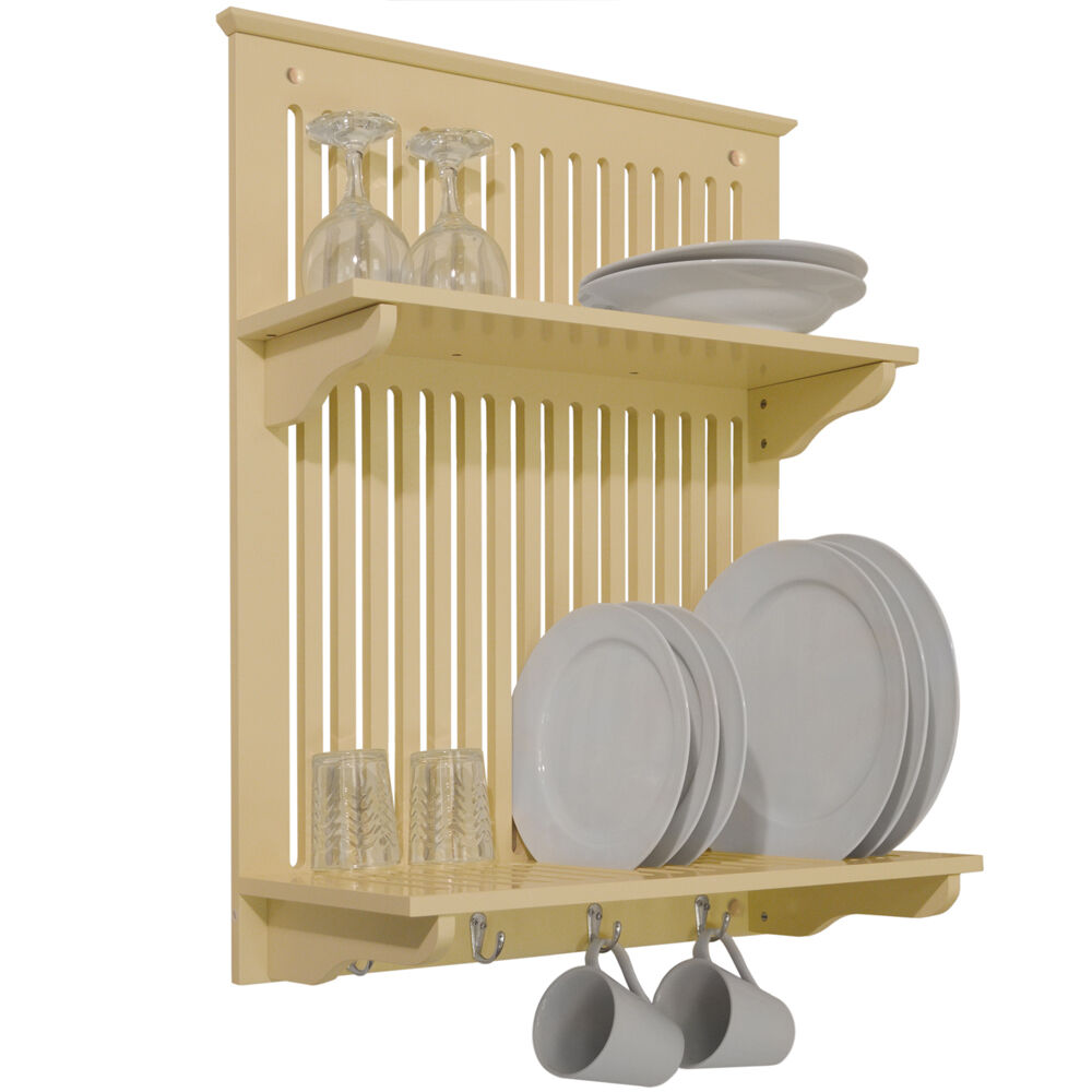 Kitchen Plate, Bowl, Cup Display / Wall Rack