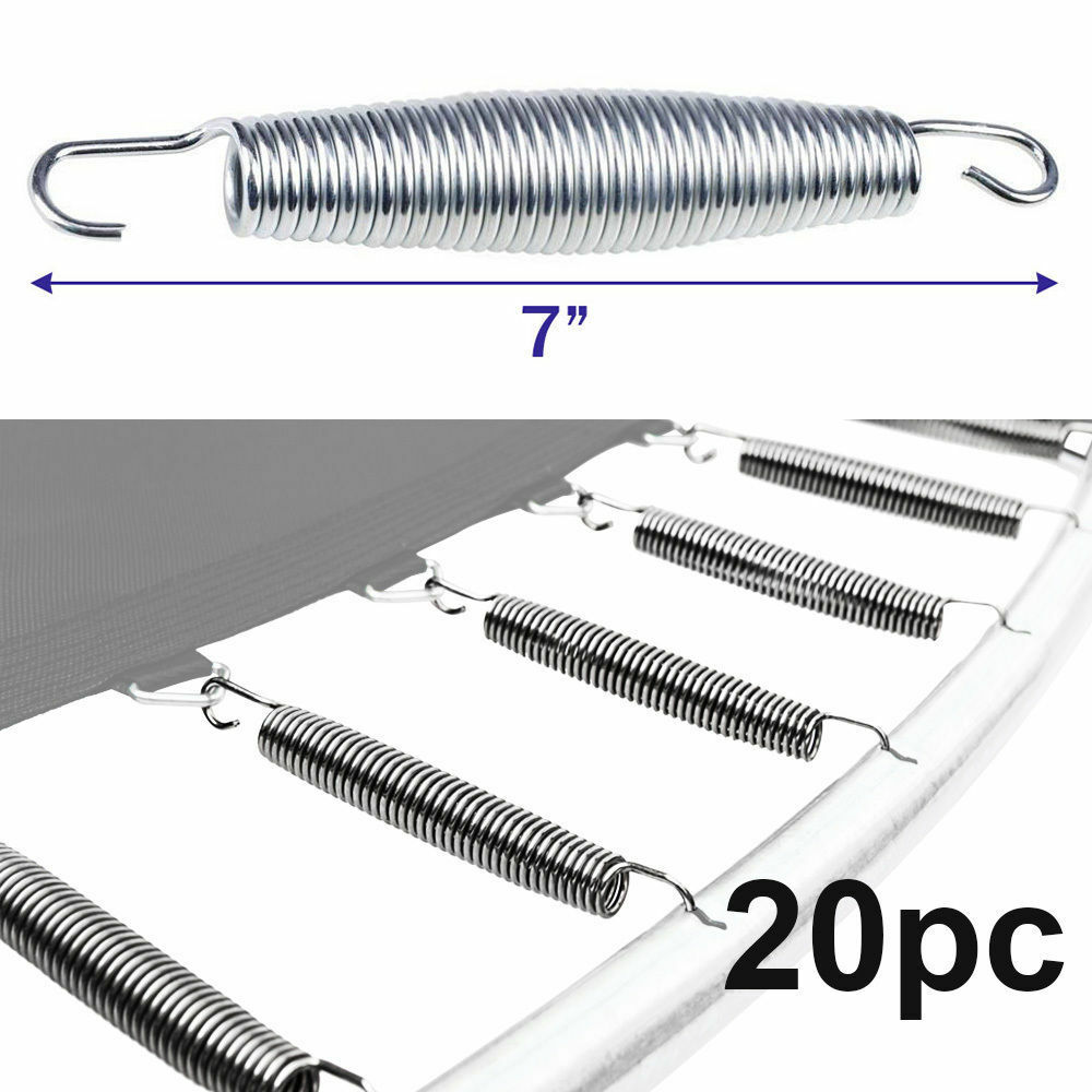 20pc 7 Quot Inch Trampoline Springs Heavy Duty Galvanized