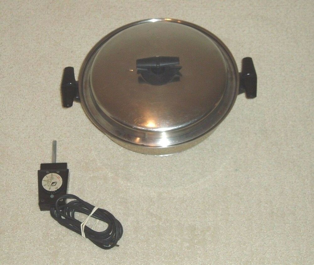Vollrath Electric Skillet Frying Pan Model 24 Great