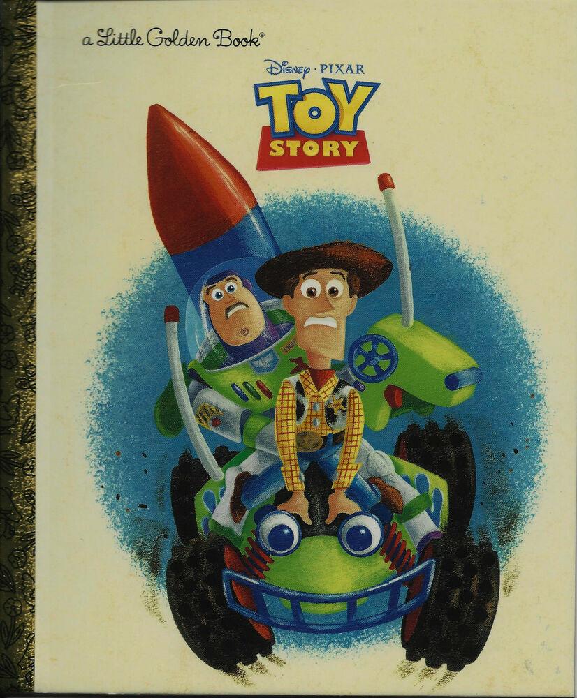 Disney Toy Story 4 Andy : Toy story little golden book new disney woody buzz