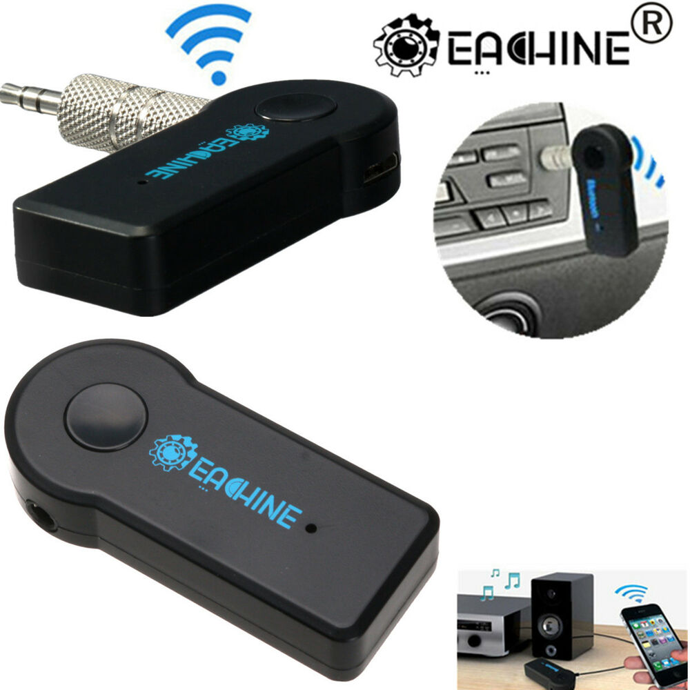 Car Bluetooth Aux Receiver Cable Adapter For Vw Rcd210: EACHINE Wireless Bluetooth Receiver 3.5mm AUX Audio Stereo