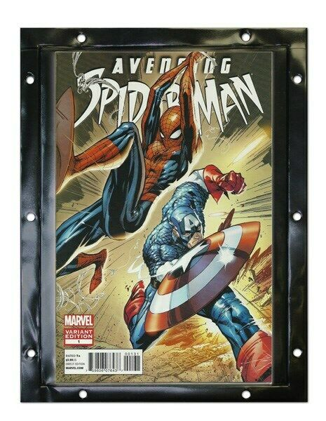case of 180 bcw snap it comic book wall display panels holders protectors ebay. Black Bedroom Furniture Sets. Home Design Ideas
