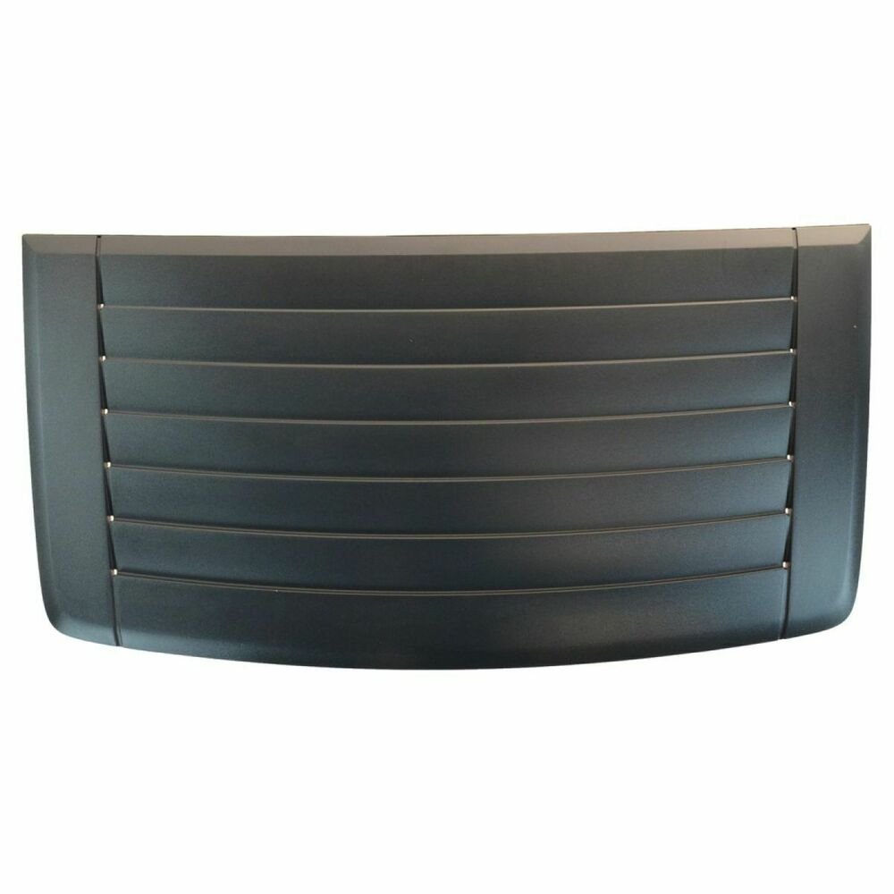 oem 20880500 hood air vent louver insert panel gray for. Black Bedroom Furniture Sets. Home Design Ideas