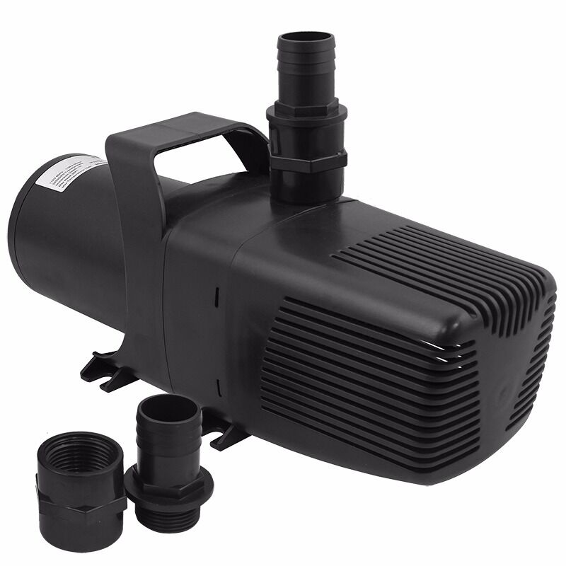 3200gph submersible external water pump fresh saltwater for Koi pool pumps