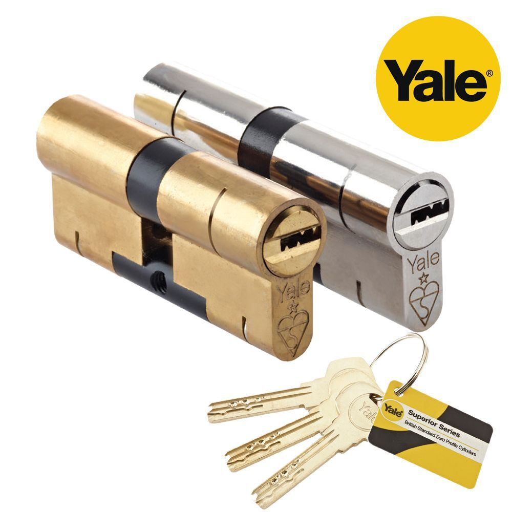 Yale Superior Anti Snap Bump High Security Euro Barrel