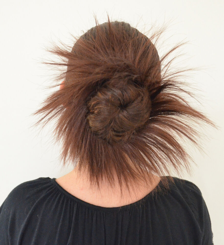 how to defrizz a dance hair piece