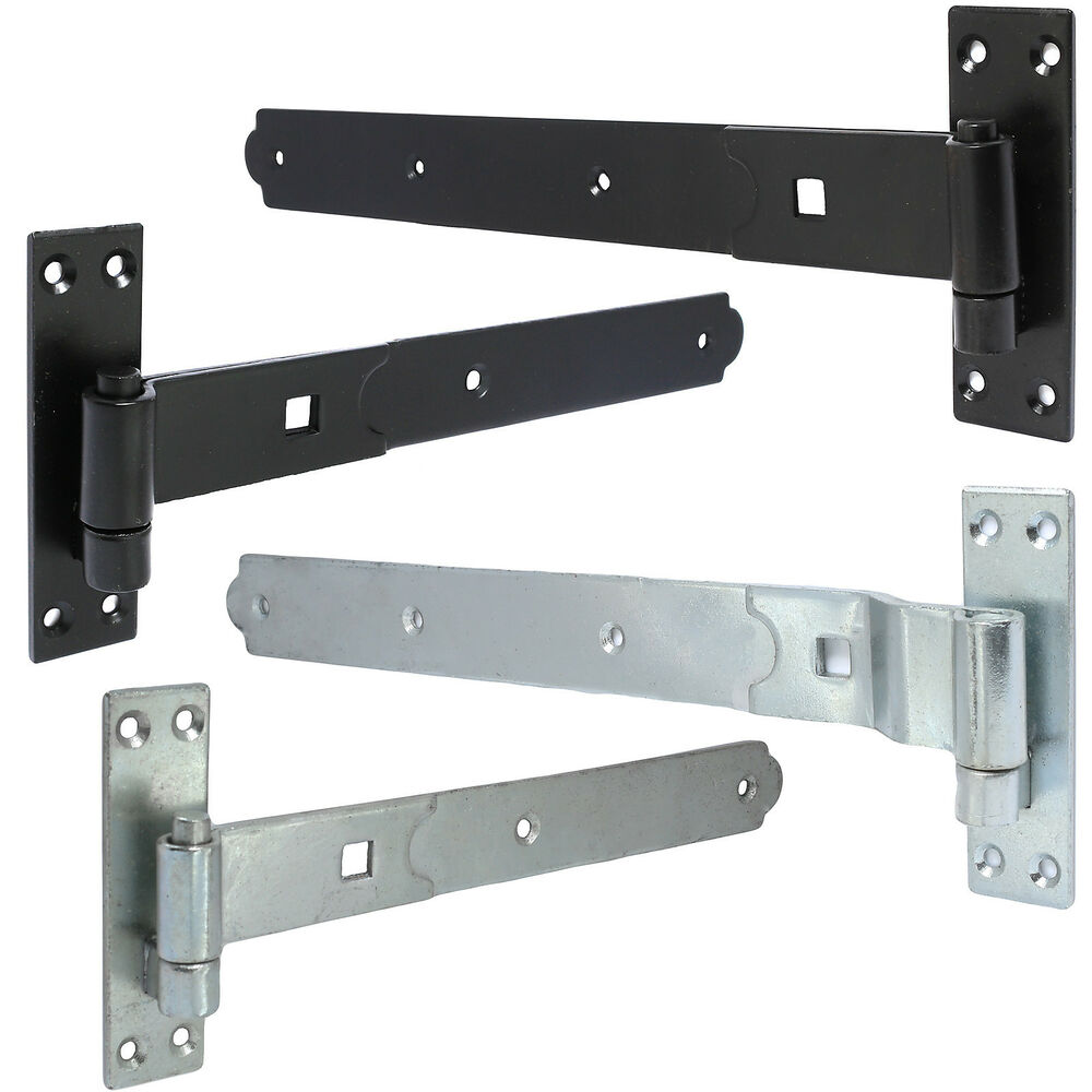Pair Of High Quality Lift Off On Gate Hinges Weatherproof