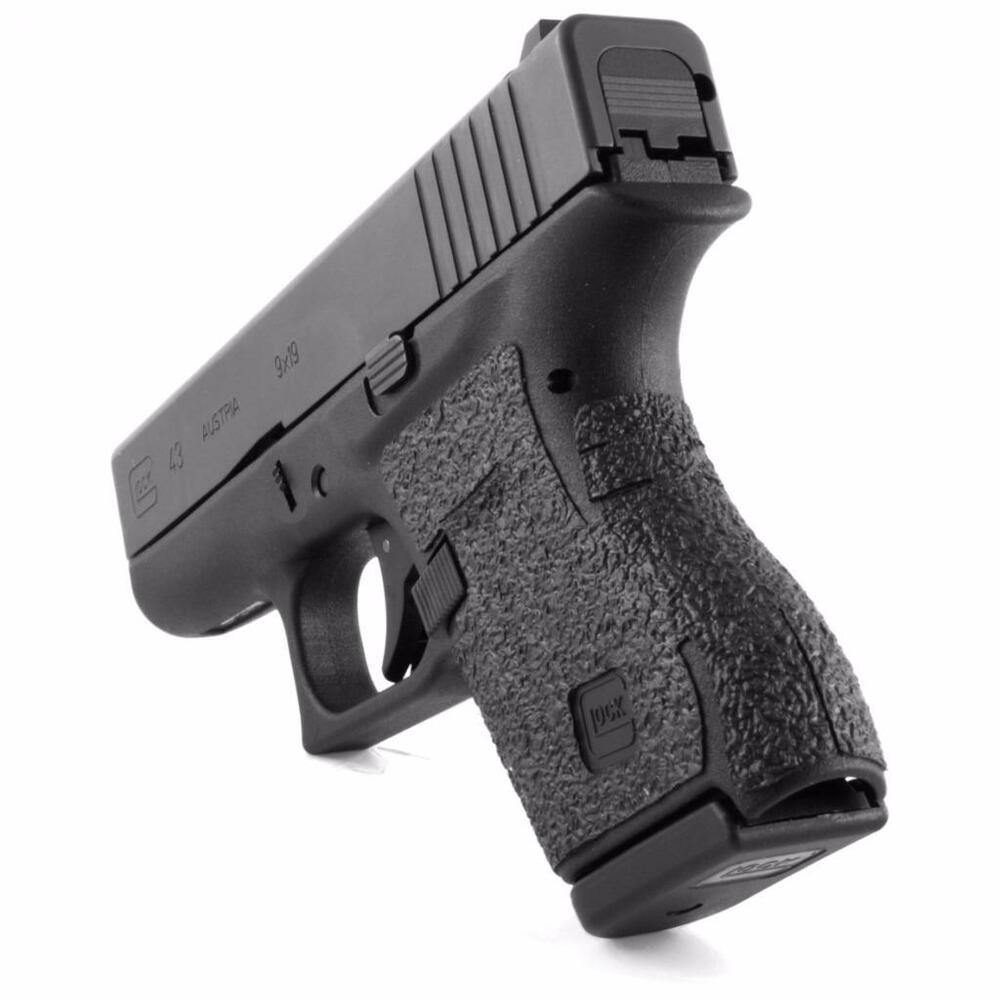 Talon Grips For Glock 43 Black Rubber Texture Grip Wrap