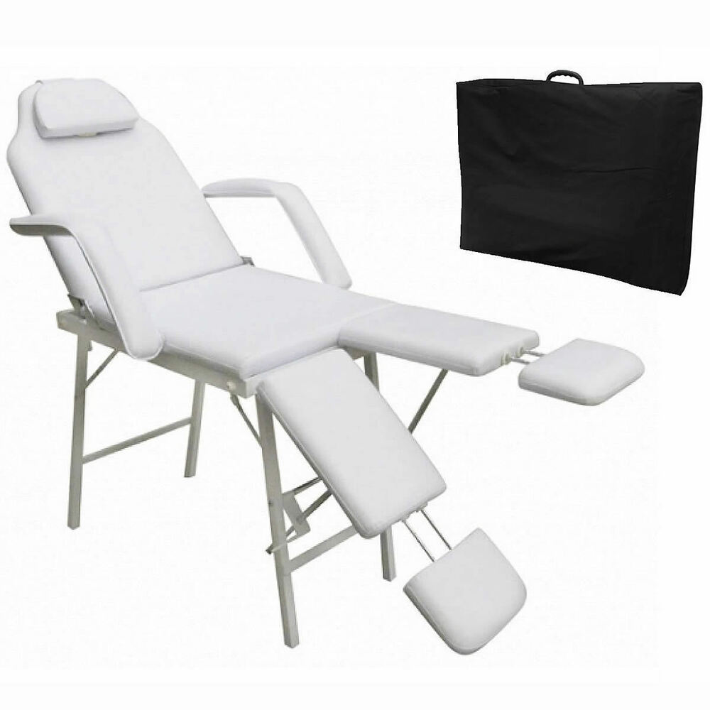 Portable tattoo parlor spa salon facial bed beauty massage table chair
