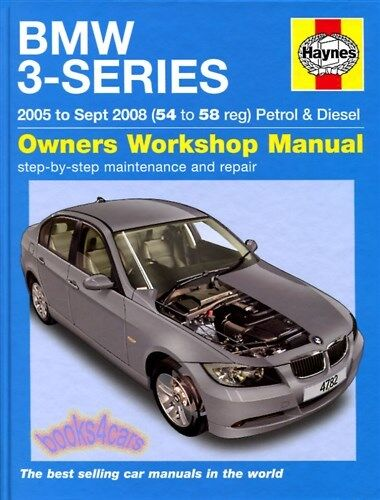 bmw shop manual service repair book diesel 3 series haynes e90 320 rh ebay com 2013 BMW F30 BMW 3 Series Diesel