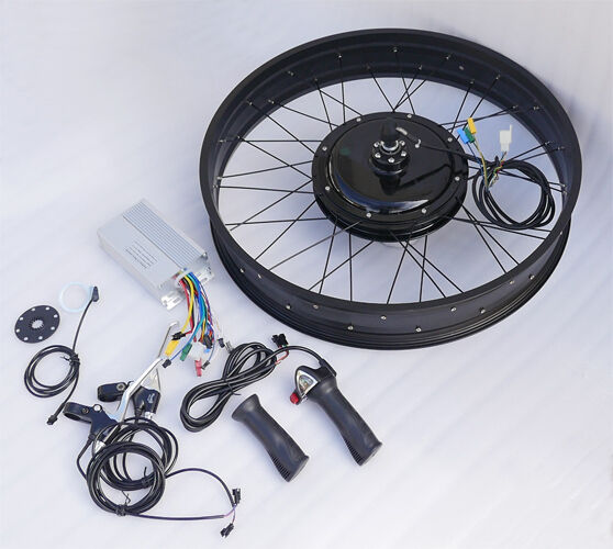Bicycle Electric Motor Kit Philippines: 48V Fat Tire Electric Bike EBike Conversion Kit-Front Hub