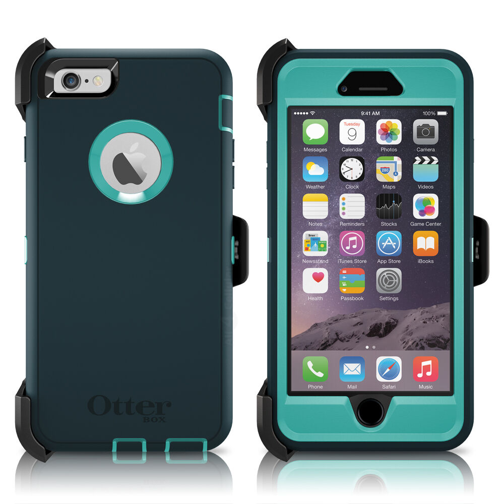 otterbox iphone 6 defender otterbox defender iphone 6 plus 5 5 quot amp holster oasis 15820