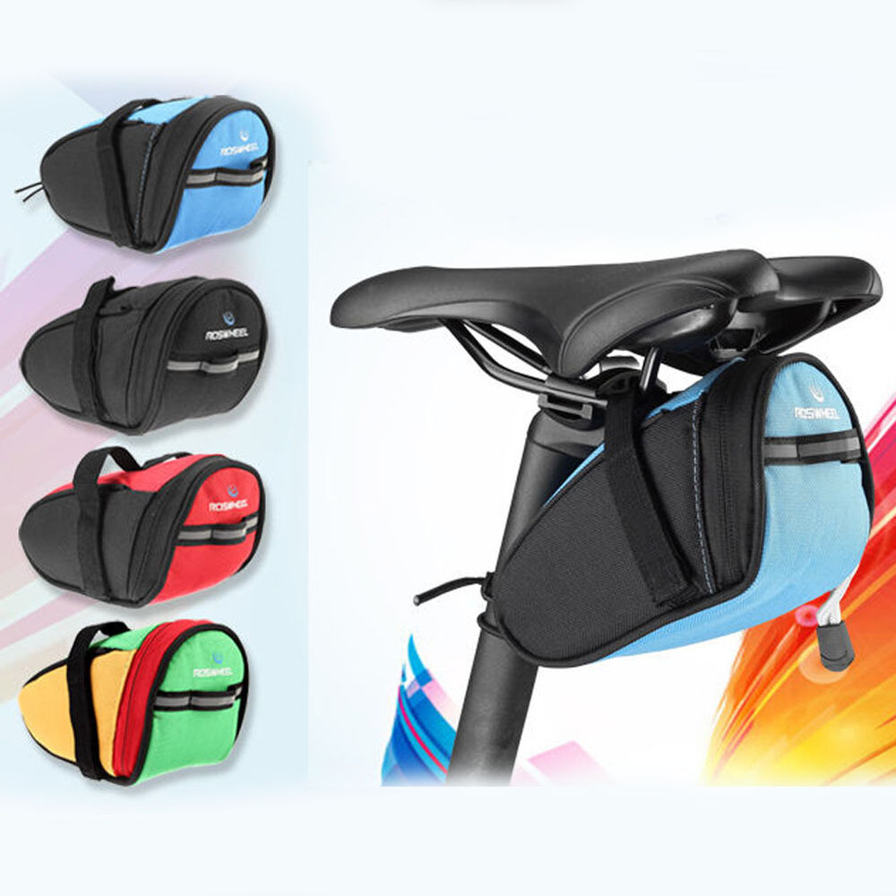 Waterproof Outdoor Bike Under Seat Saddle Bag Bicycle Tail Rear Storage Pouch