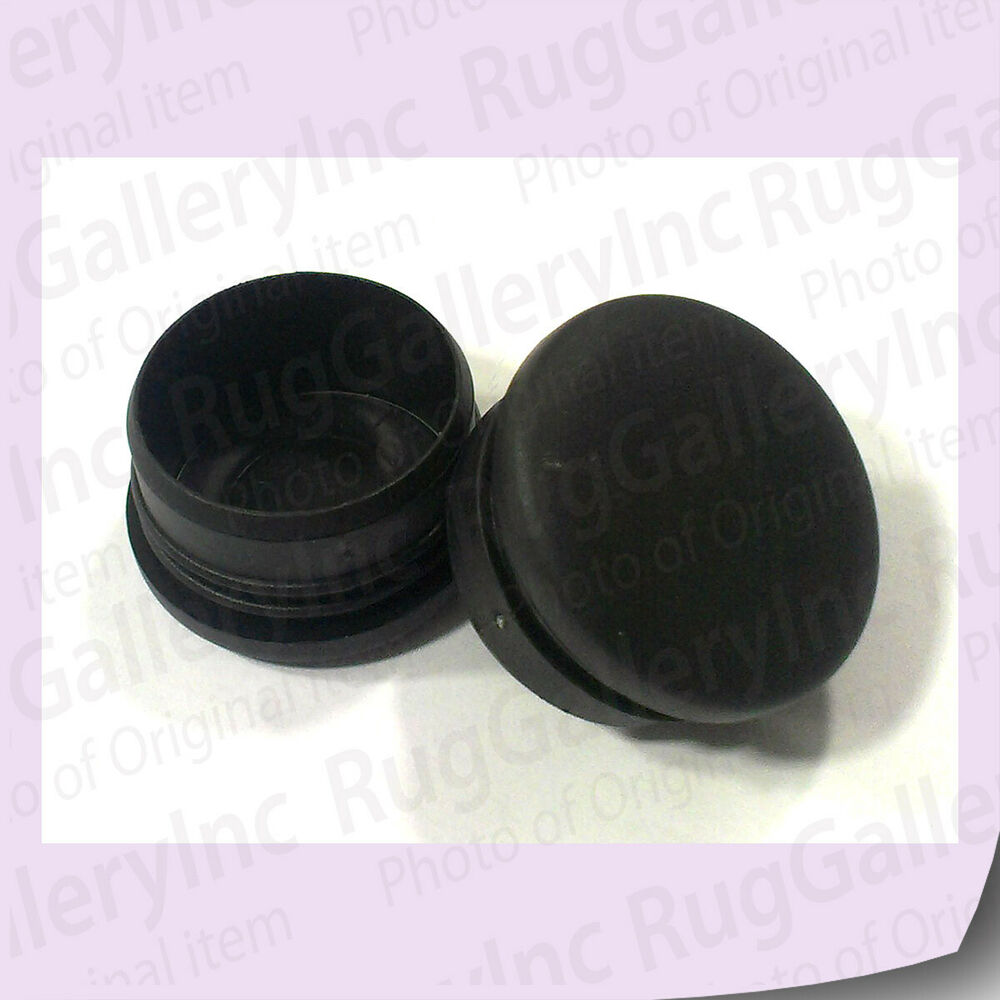 End caps for bouncepro trampoline frame parts