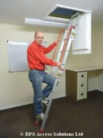 Sliding Loft Ladders - 2 & 3 Section - FREE NEXT DAY DELIVERY!