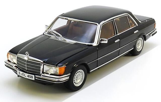 revell mercedes 450sel 6 9 w116 1 18 black color almost. Black Bedroom Furniture Sets. Home Design Ideas