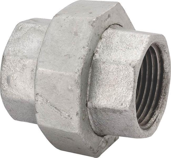 New lot inch galvanized pipe threaded unions
