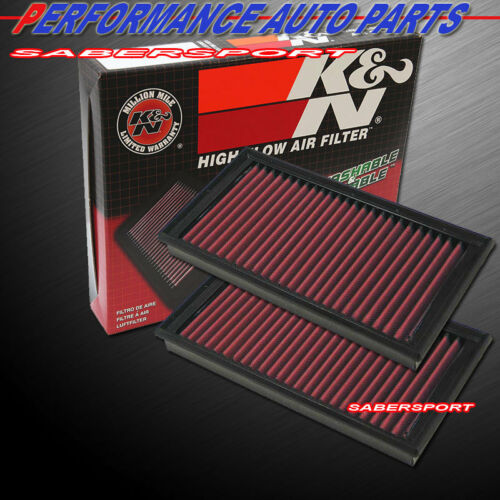 two-kn-332181-panel-air-intake-filters-for-mercedes-c-clk-e-gl-ml-r-s-slclass