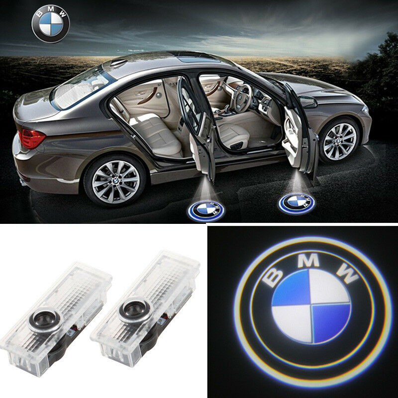 2 X Led Car Door Courtesy Shadow Projector Welcome Light