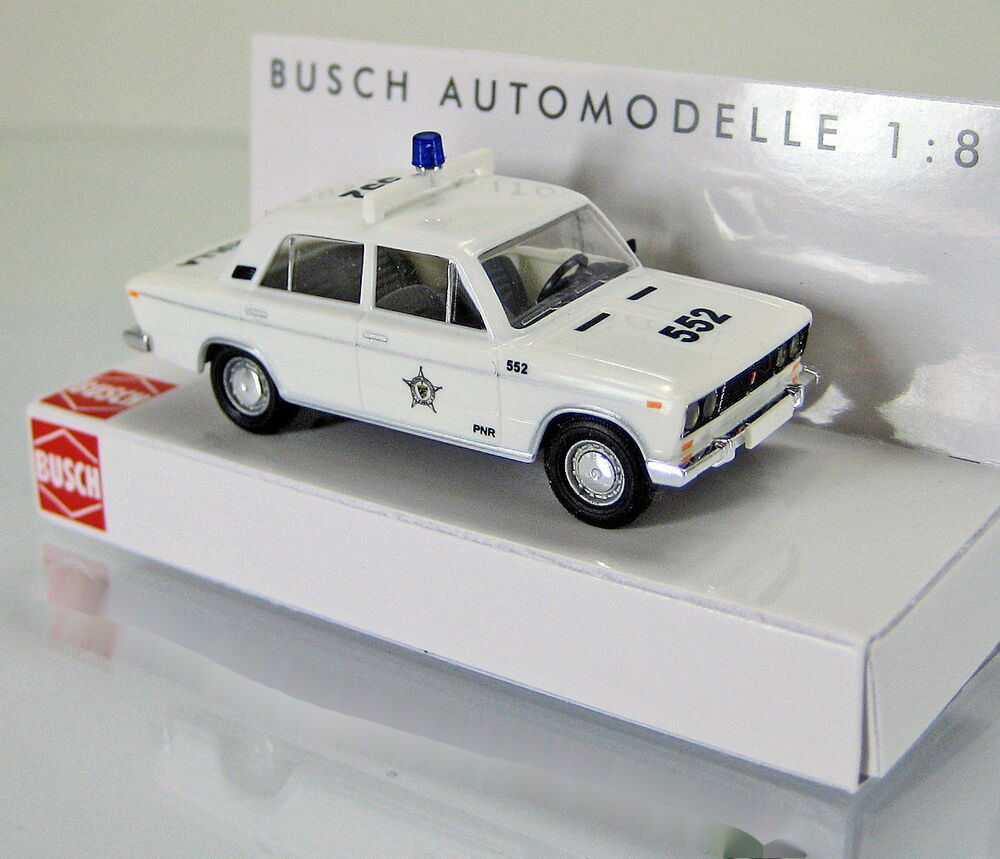 busch 50562 lada 1600 was 2106 limousine patrulla polizei kuba ebay. Black Bedroom Furniture Sets. Home Design Ideas