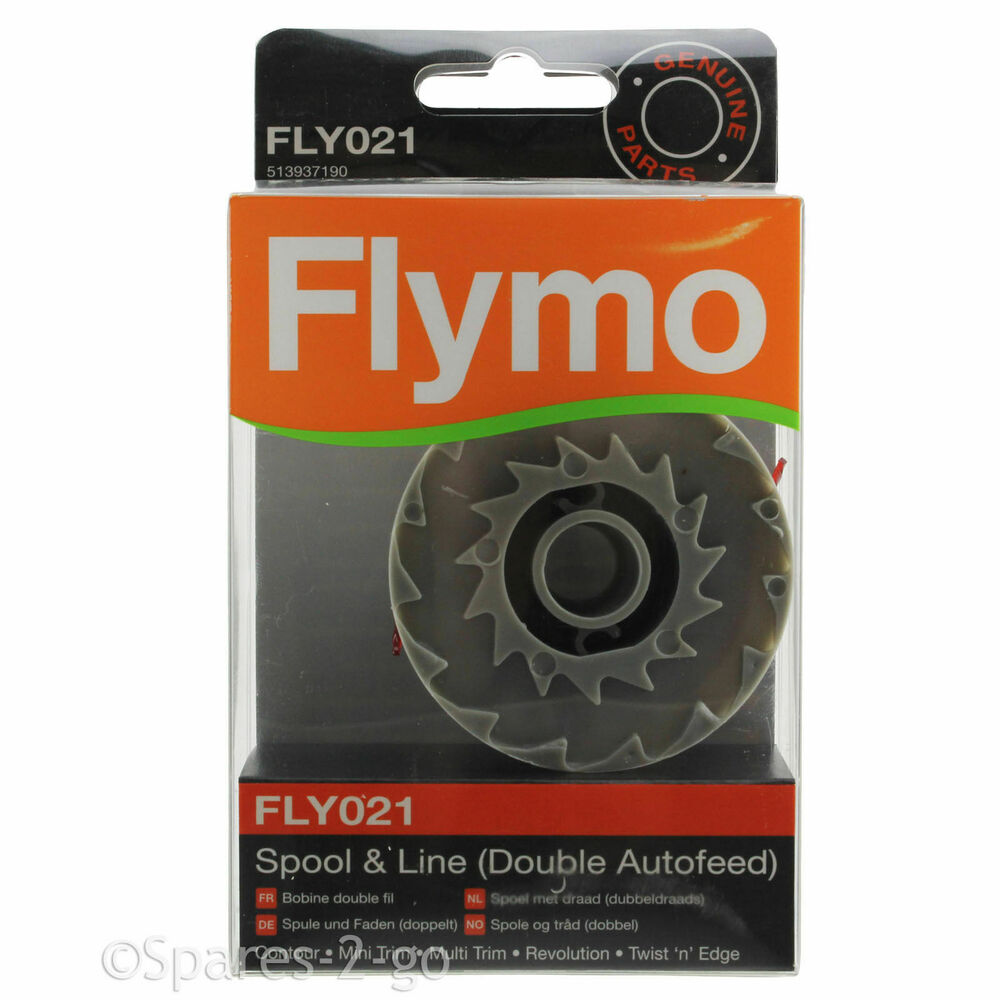 flymo strimmer spool line double autofeed multi trim. Black Bedroom Furniture Sets. Home Design Ideas