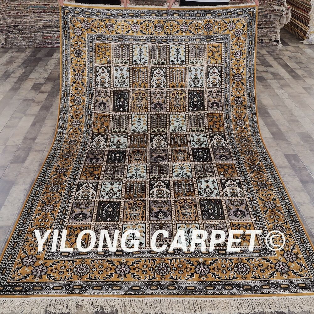 5'x8' Turkish Four Season Home Floral Carpet Oriental
