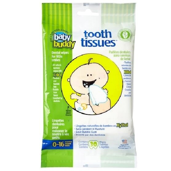Baby Buddy Tooth Tissues Dental Hygiene Wipes For Baby