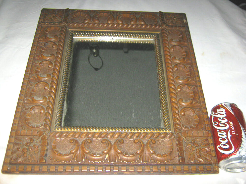 Antique Mission Arts Amp Crafts Carved Wood Flower Wall