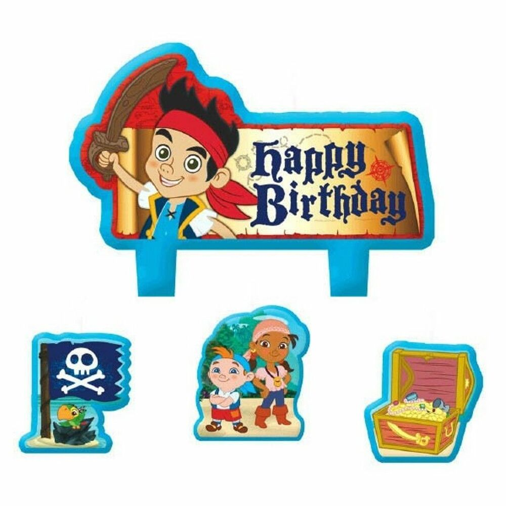 Jake And The Neverland Pirates Cake Topper Set