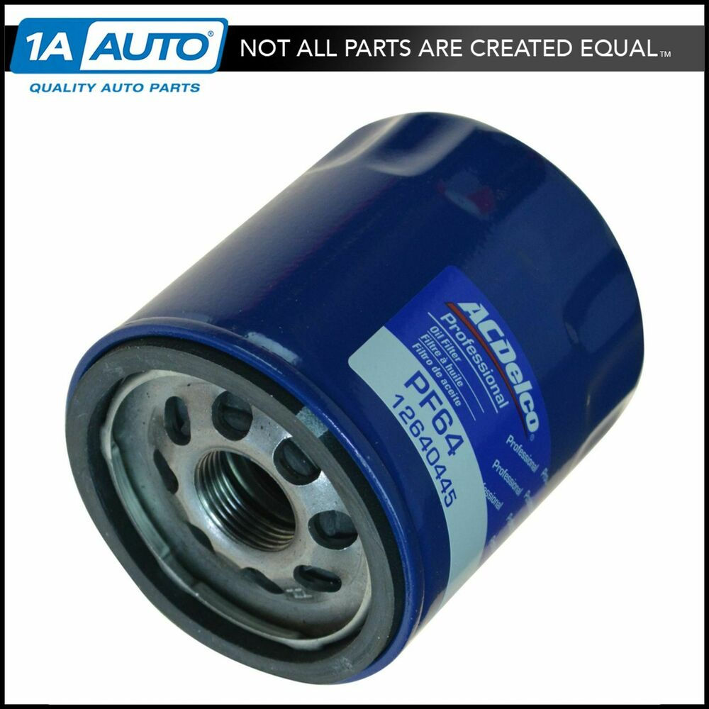Ac Delco Pf64 Engine Oil Filter For Buick Cadillac Chevy Gmc New