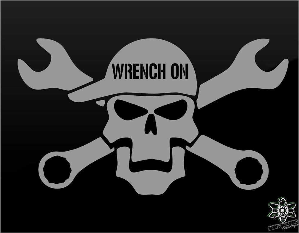 MECHANIC vinyl decal sticker Funny TRUCK Window Rig Mack ...
