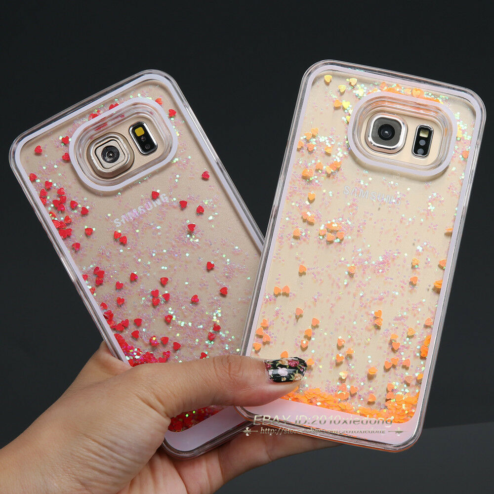 Iphone S Case With Glitter Inside