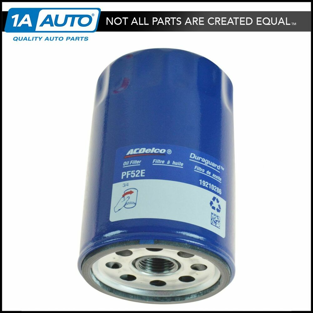 ac delco pf52e engine oil filter for chevy gmc buick olds. Black Bedroom Furniture Sets. Home Design Ideas