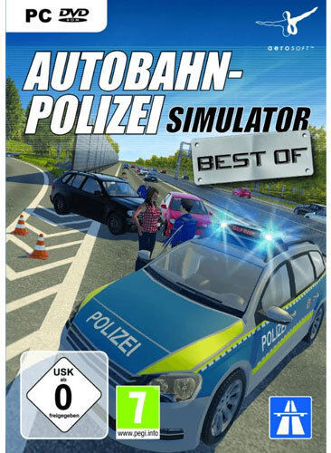 pc computer spiel autobahn polizei simulator polizei. Black Bedroom Furniture Sets. Home Design Ideas