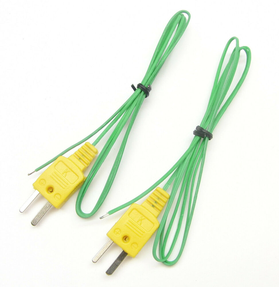 J Thermocouple Wire : K type thermocouple wire for digital thermometer