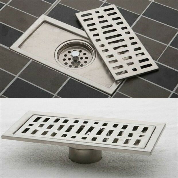 Fd1990 Stainless Steel Bathroom Floor Drain Shower Square