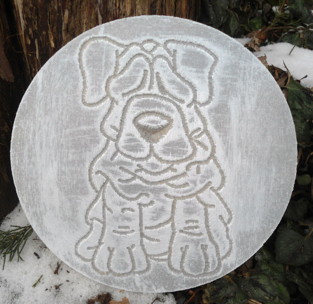 plastic plaque dog mold plaster concrete casting garden ornament mould ebay. Black Bedroom Furniture Sets. Home Design Ideas