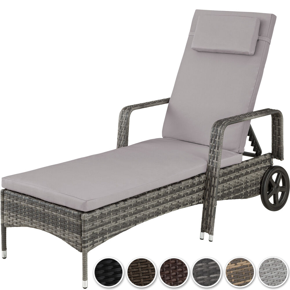 gartenliege rattan angebote auf waterige. Black Bedroom Furniture Sets. Home Design Ideas