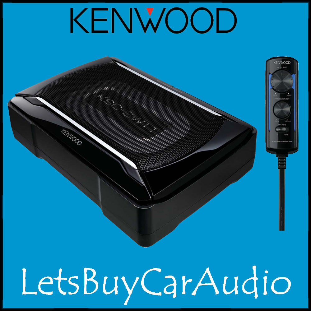 kenwood ksc sw11 compact active powered underseat. Black Bedroom Furniture Sets. Home Design Ideas