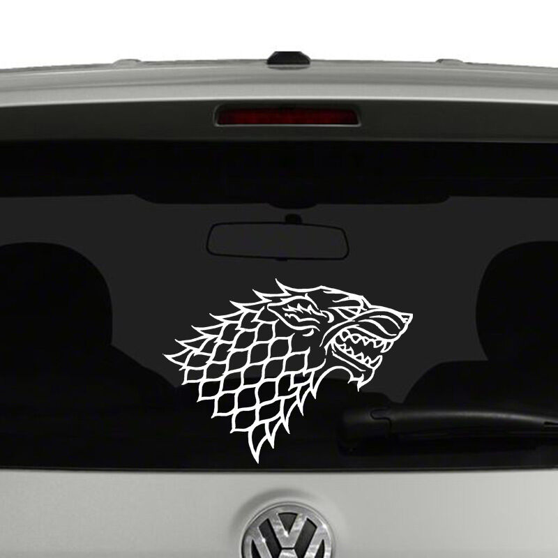 Game Of Thrones House Stark Vinyl Decal Sticker Car Window