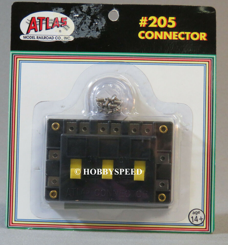 atlas ho connector switch for power to track section or. Black Bedroom Furniture Sets. Home Design Ideas