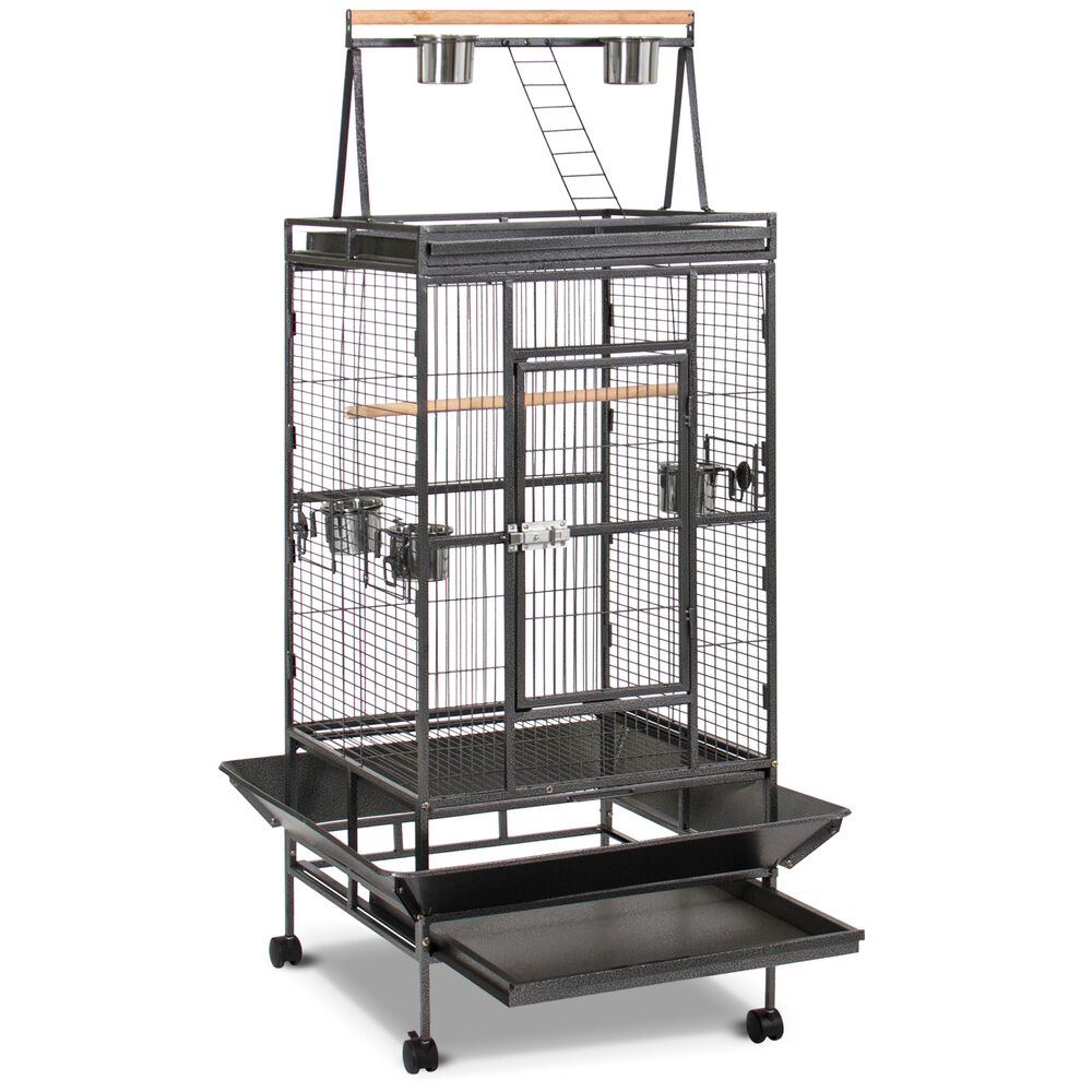 Bird Cage Large Play Top Bird Parrot Finch Cage Macaw